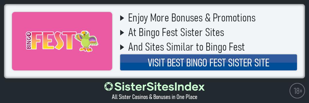 Bingo Fest Sister Sites