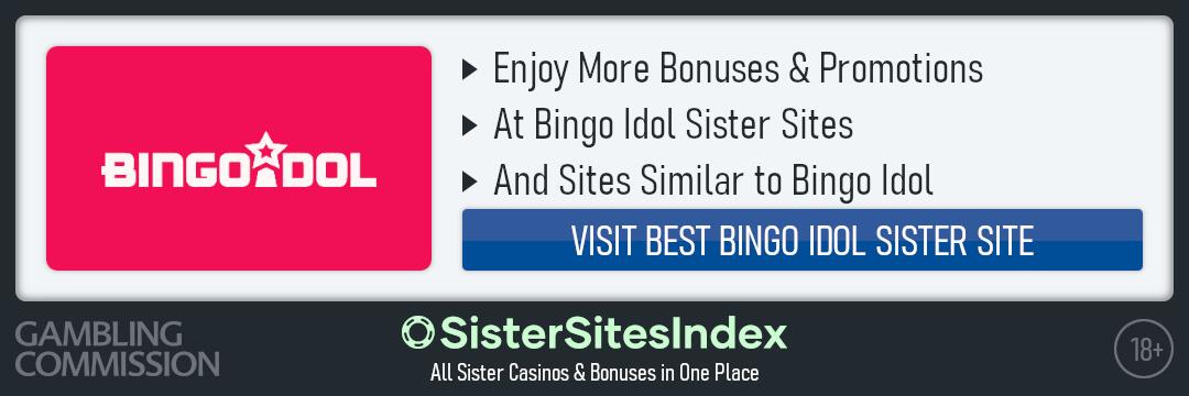Bingo Idol sister sites
