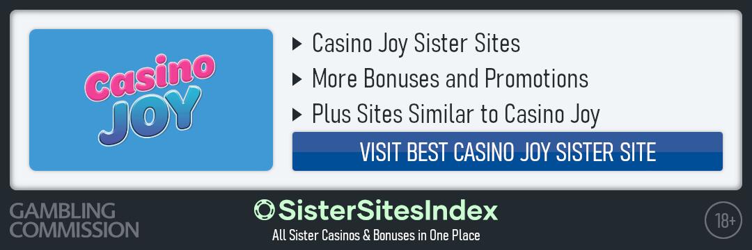 Casino Joy sister sites