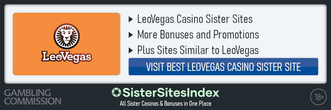 LeoVegas sister sites