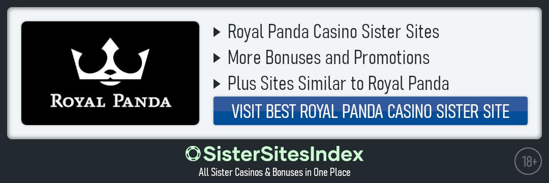 Royal Panda casino sister sites