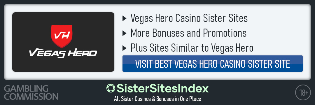 Vegas Hero sister sites