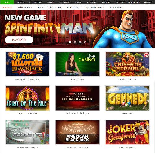 BetOnline Games