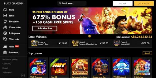 Black Diamond Bonus