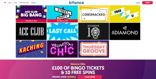 Bounce Bingo Bingo