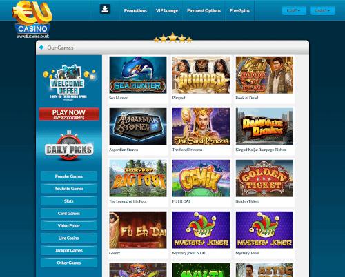 EU Casino Games