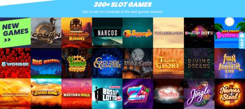 Rise casino Slots