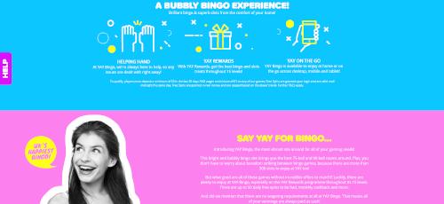 Yay bingo Bingo Experience