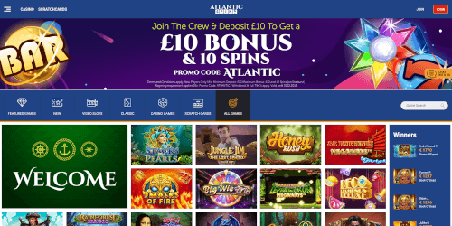 Atlantic Spins Homepage