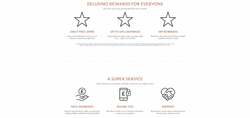 Deluxino Features