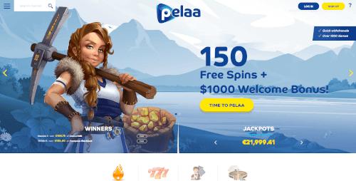 Pelaa Homepage