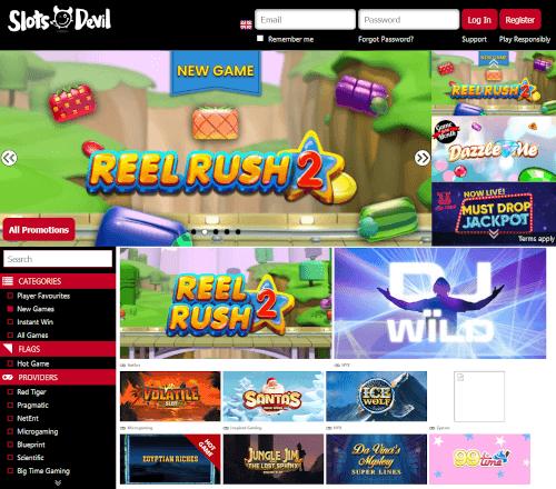 Slots Devil Homepage