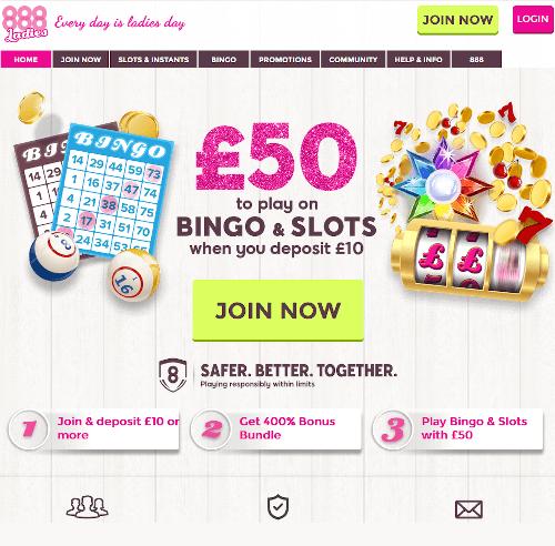 888 Ladies Homepage