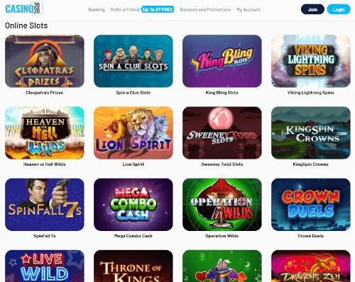 Casino2020 Games