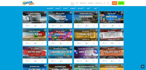 Costa Bingo Games