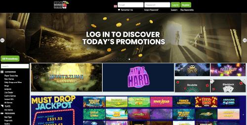 Handy Vegas Homepage
