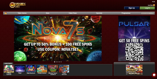 Silversands Casino Games