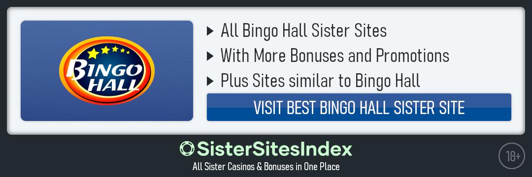 Bingo Hall sister sites