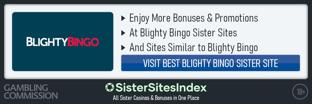 Blighty Bingo sister sites