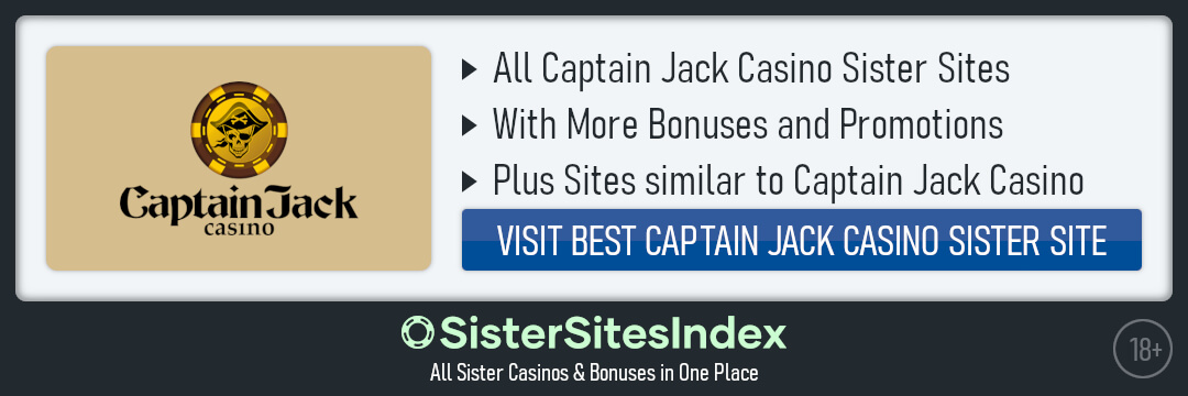 Captain Jack Casino sister sites