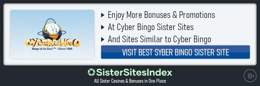 Cyber Bingo sister sites