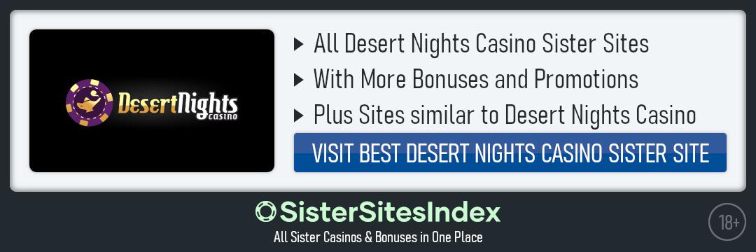 Desert Nights Casino sister sites
