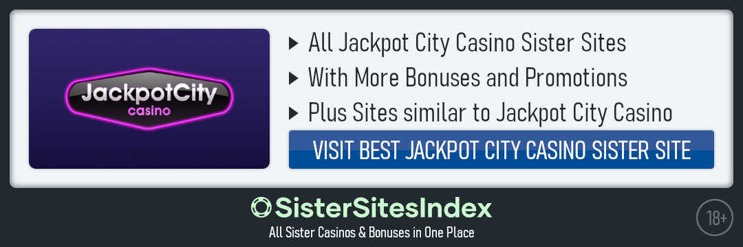 Jackpot City Casino sister sites