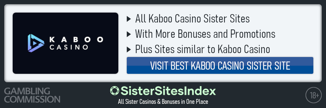 Kaboo Casino sister sites
