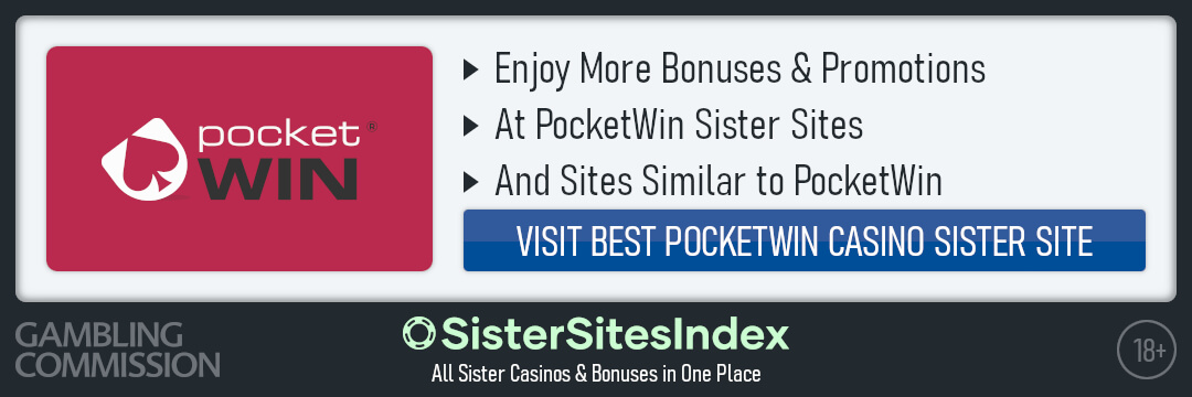 PocketWin sister sites