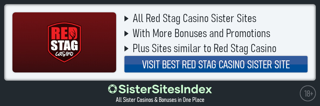 Red Stag Casino sister sites