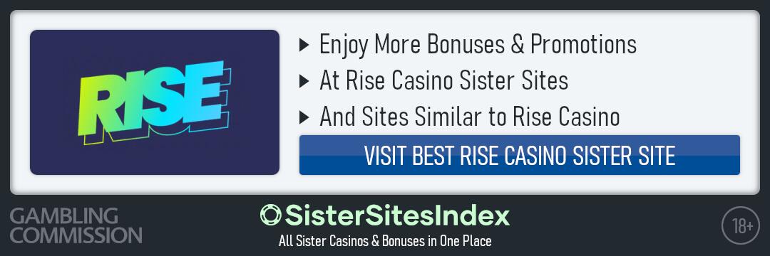 Rise Casino sister sites