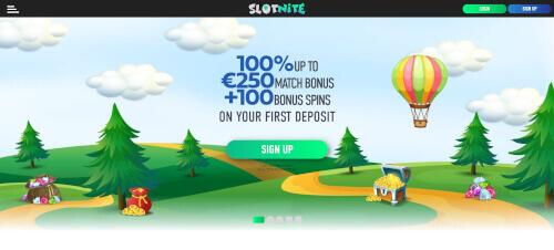 Slotnite casino bonuses