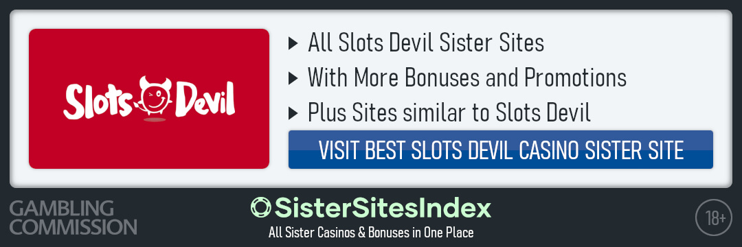 Slots Devil sister sites