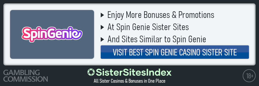 Spin Genie sister sites