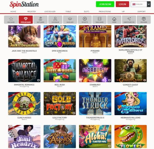 Spinstation Games