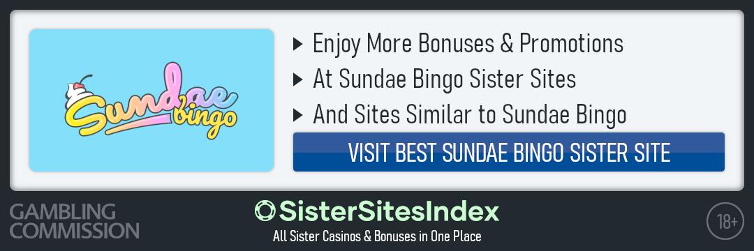 Sundae Bingo sister sites