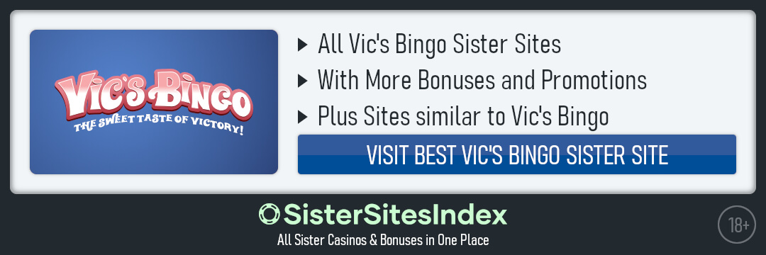 Vics Bingo Sister Sites