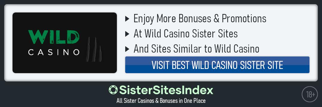 Wild Casino sister sites