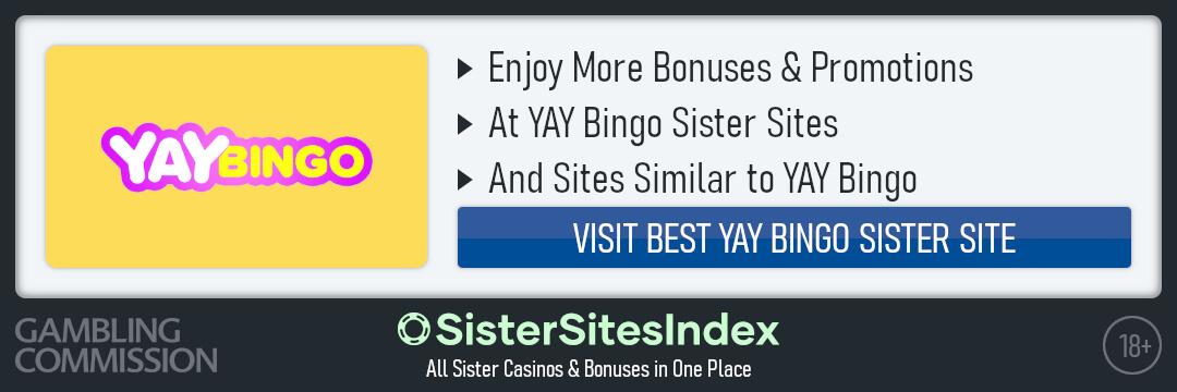 YAY Bingo sister sites