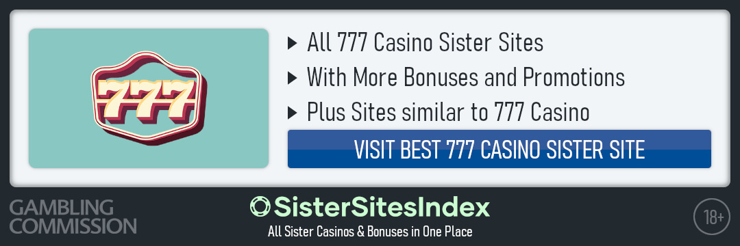 777 Casino sister sites