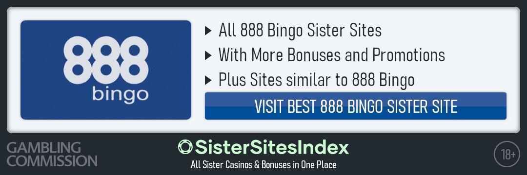 888 Bingo sister sites