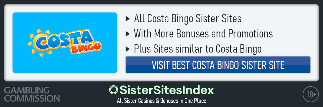Costa Bingo sister sites