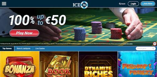 Ice36 Bonuses