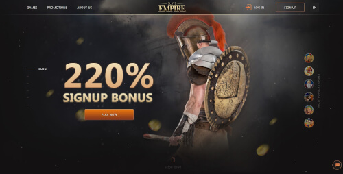 Slots Empire Bonuses