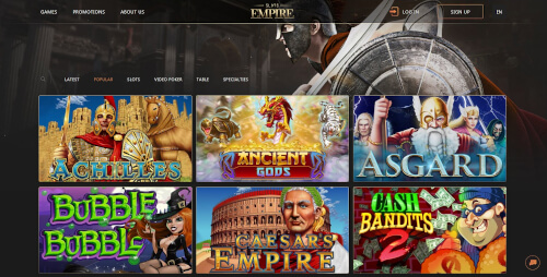 Slots Empire Games