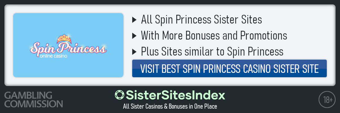 Spin Princess sister sites