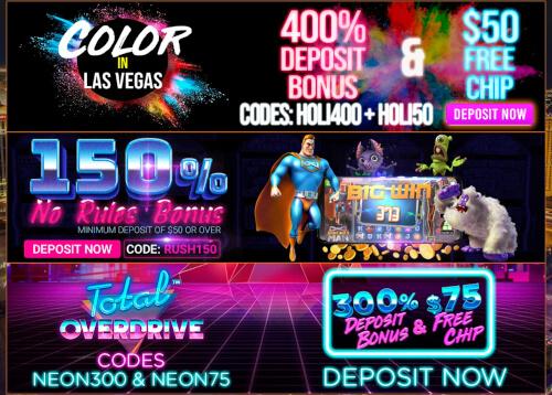 Vegas Rush Promotions