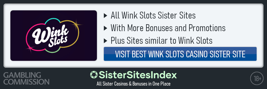 Wink Slots sister sites