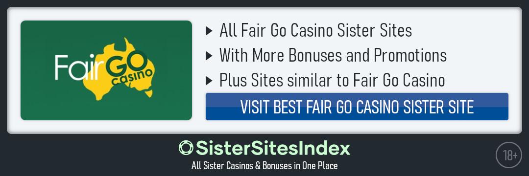 Fair Go Casino sister sites