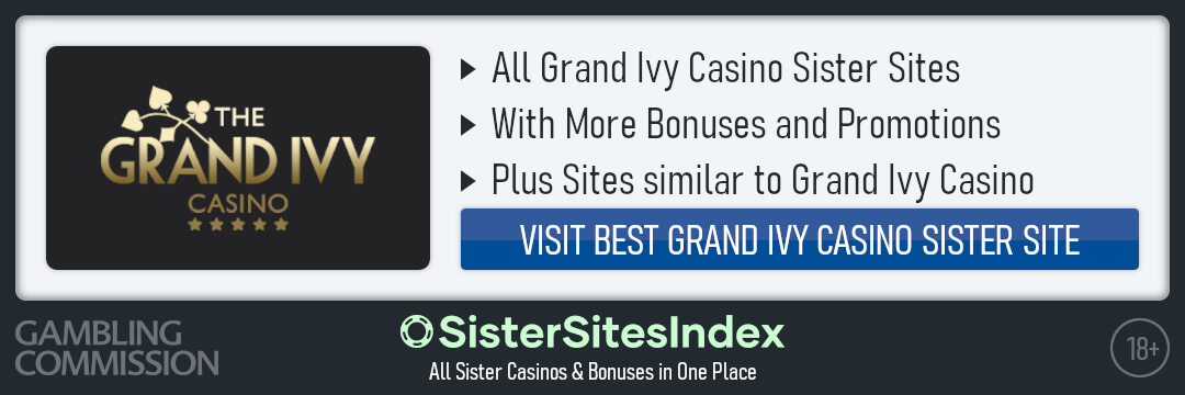 Grand Ivy Casino sister sites
